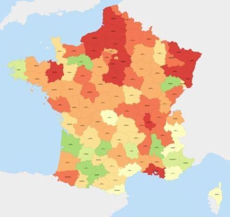 Education et TICE – Cartographie de la désindustrialisation et Front National | Penser l'espace | Logicamp | Geomatic | Scoop.it