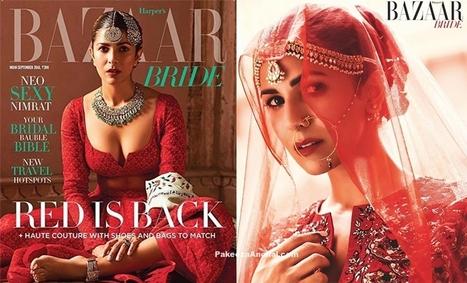 Nimrat Kaur on Harper's Bazaar Bride Front Page | Indian Fashion Updates | Scoop.it