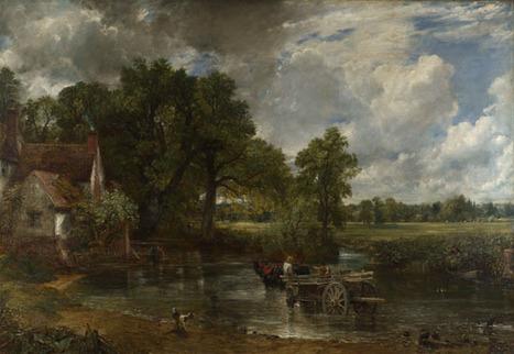 John Constable | The Hay Wain | NG1207 | The National Gallery, London | Form 5 Art Syllabus | Scoop.it