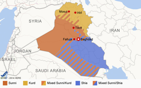 Maps: Crisis in Iraq | US foreign policy | Scoop.it