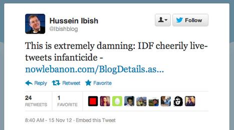 Israel Defense Forces Social Media Head Defends Tweets | Archivance - Miscellanées | Scoop.it