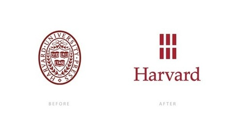 Harvard University Press Updates Logo | Corporate Identity | Scoop.it