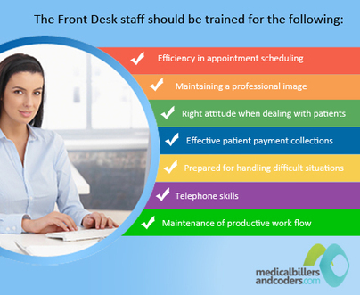 Is your Front Desk Specialist Trained for a Complex Clinical Environment? | Latest Update on Medical Billing - MedicalBillersandCoders.com | Medical Billing Company | Scoop.it