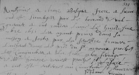 Inondation mortelle à Tourves (Tourves, 8 septembre 1651) | Rhit Genealogie | Scoop.it