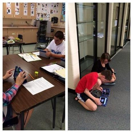 """Jill Green on Twitter: """"5th period hard at work on the Explain Everything app! Do you know the elements of an ecosystem?? http://t.co/EdODOrZfnl""""   lesson plans explain everything app   Scoop.it"""