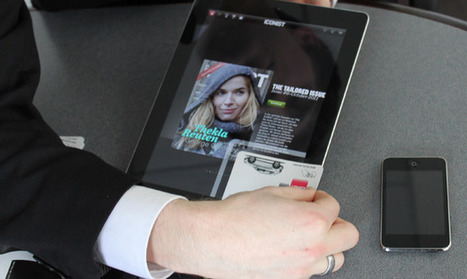 QR Code Killer? Touchcode Opens Content By Tapping Paper to Screen | Unbiased Technology and Innovation Blog | Scoop.it