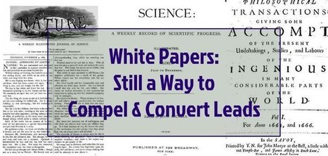 White Papers: Still a Way to Compel and Convert Leads - Return On Now | Content Marketing and General Marketing | Scoop.it