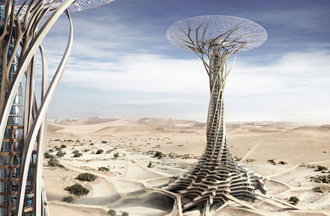 Solar Desert Tower 3D-Printed From Sand - Discovery News | Machinimania | Scoop.it