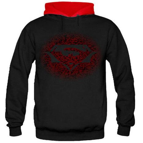 SUPERBATMAN2 FULL SLEEVE HOODIE | SAY IT LOUD | t shirt printing | Scoop.it