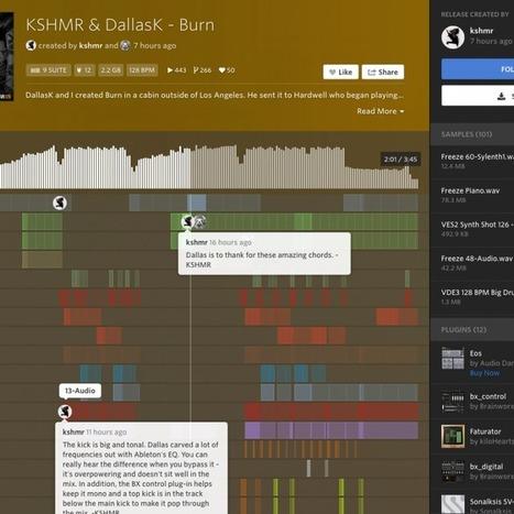 KSHMR & DallasK share Ableton project file for Beatport #1, 'Burn' | DJing | Scoop.it
