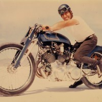 Motorcycle In Blue Marty Dickerson's Vincent Rapide B and Bonneville | Classic and Custom Motorcycles | Scoop.it