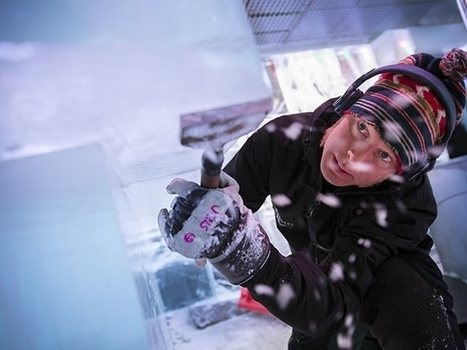 Q&A with Ice Artist and Creative Director Jens Thoms Ivarsson of ICEHOTEL & ICEBAR LONDON   Copyspace   Scoop.it
