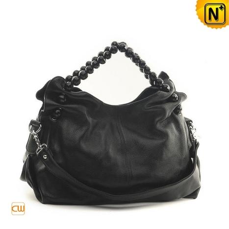 Black Leather Hobo Handbags CW289158 - cwmalls.com   Women leather bags   Scoop.it