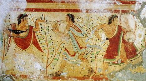 Une pierre vieille de 2500 ans livrerait des informations inédites sur les Étrusques | Bibliothèque des sciences de l'Antiquité | Scoop.it
