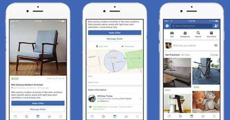 """Facebook is digitalizing garage sales with its new """"Marketplace"""" - Social Media Week 