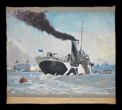 14-18 : Les camouflages délirants qui embrouillèrent les sous-marins allemands | Nos Racines | Scoop.it