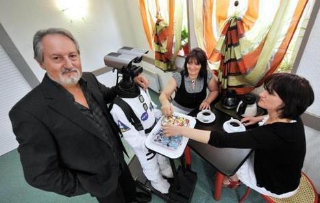 Un robot breton prêt à servir dans vos soirées - DirectMatin.fr   Bretagne   Scoop.it