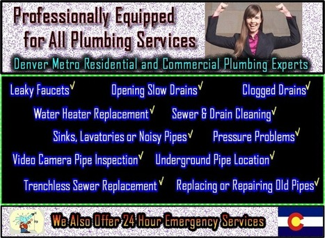 Plumbing Service Maintenance for Without charge | Emergency Plumbing Repair Srvc CO Cmpy | Scoop.it