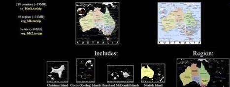 PAT, colección de mapas de dominio público | Enseñar Geografía e Historia en Secundaria | Scoop.it