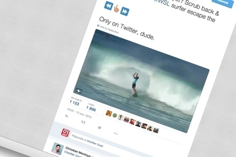 Twitter lance ScratchReel, le Gif animé accélérable et rembobinable à l'envi   Web Design et Digitale outils   Scoop.it