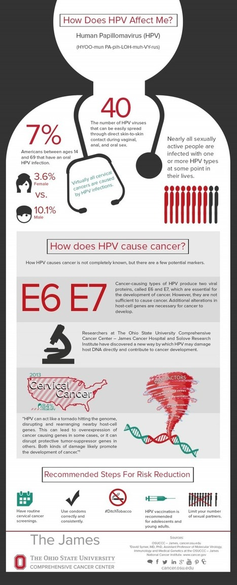 How Does HPV Affect me? [infographic] | Sex, Lies and STI's | Scoop.it