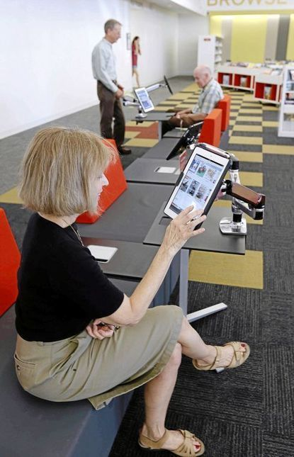 Tulsa libraries see fewer visits as e-traffic, circulation rise | innovative libraries | Scoop.it