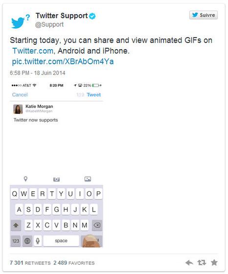 Comment publier un GIF sur Twitter ?   Time to Learn   Scoop.it