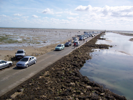 French Road Is Only Drivable Twice a Day, Then It Disappears Under 13 Feet of Water | Trinidad and Tobago, Global Carnival Festivals. | Scoop.it