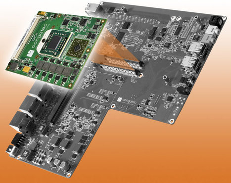 Congatec Reference Board for Video Wall Systems Powered by AMD Embedded R-Series APU | Embedded Systems News | Scoop.it