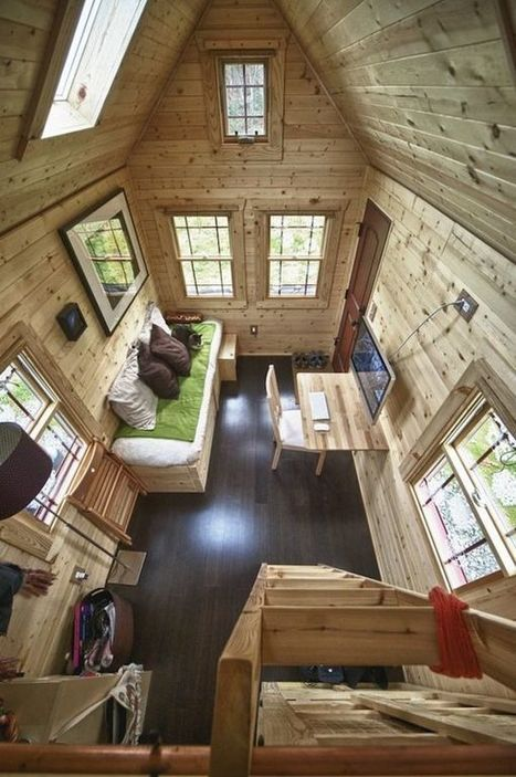 20 Smart Micro House Design Ideas That Maximize Space | MSV | Scoop.it