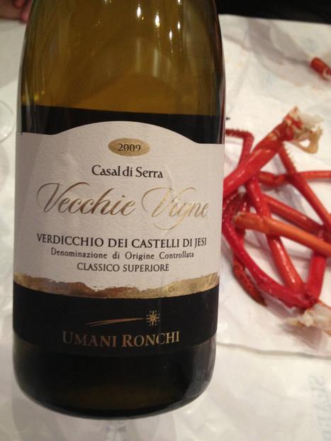2009 Umani Ronchi Verdicchio dei Castelli di Jesi. Casal di Serra. Vecchie Vigne DOC Classico Superiore. 13.5% | Wines and People | Scoop.it