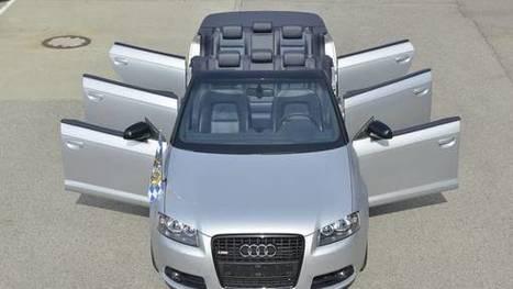 Audi causa sensación en redes sociales con un A3 de seis puertas | Tecnología 2015 | Scoop.it