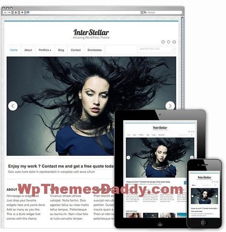 Free Premium Responsive WordPress Themes 2015 ~ Free WordPress Themes - WP Themes Daddy   Free Wordpress Themes   Scoop.it