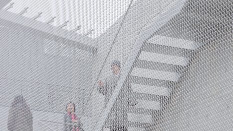 An Art Gallery With A Ghostly Chain Mail Skin | [THE COOL STUFF] | Scoop.it