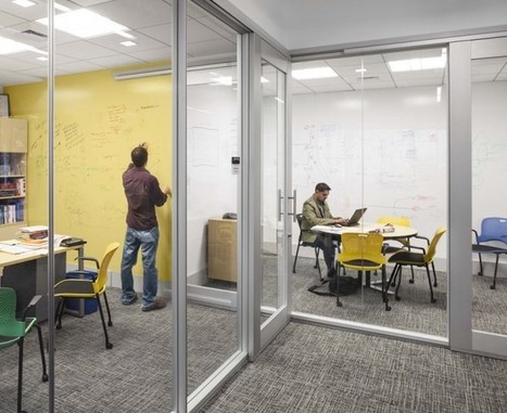 Workplace Element: IdeaPaint Walls | Office Environments Of The Future | Scoop.it