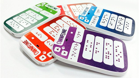 'World's first' braille mobile phone goes on sale in the UK | UtopianDynamics | Scoop.it