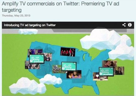 Twitter Advertising: Amplify TV commercials on Twitter: Premiering TV ad targeting | Better know and better use Social Media today | Scoop.it