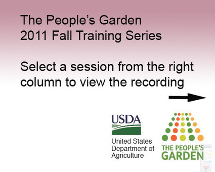 2011 Healthy Gardens Training Series | Good Gardening News and Advice | Scoop.it