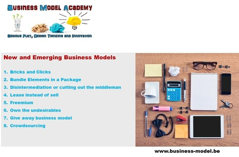 8 Business Models examples - Business Model Academy | Business model - inspiration | Scoop.it