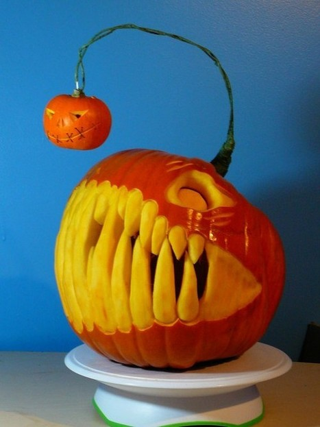 Anglerfish Pumpkin Carving | Cleaners in London | Fantastic Cleaners London | Scoop.it
