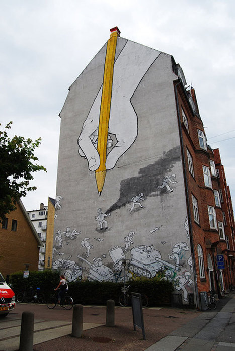 30 Wonderful Examples of Large Scale Street Art Murals   The Architecture of the City   Scoop.it