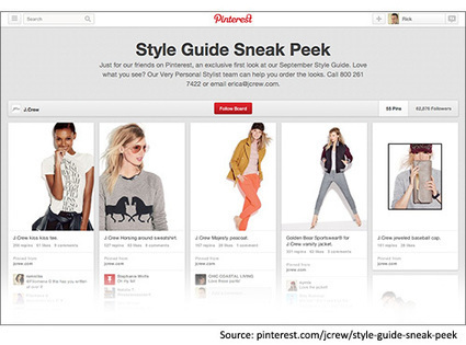 RetailWire News Article: Is J.Crew's Pinterest Sneak Peak a Sign of the Way Catalogs Will Go? | Pinterest | Scoop.it