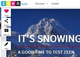 Zeen for storytelling, reports, portfolios and more   Creativity in the School Library   Scoop.it