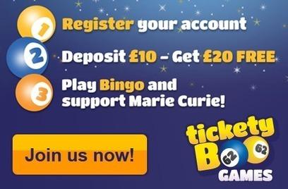 Tickety Boo Games - Win £1000 jackpots at Tickety Boo Games   bingotelegraph.co.uk   Bingo News   Scoop.it