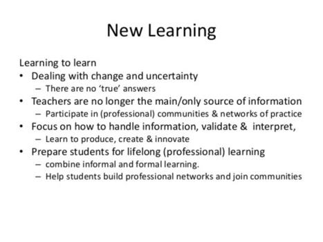 In an era of knowledge abundance – Part 4 | Re-Ingeniería de Aprendizajes | Scoop.it