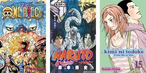 Top 50 des meilleures ventes de mangas en 2012 - le Dojo Manga | Manga DDr | Scoop.it