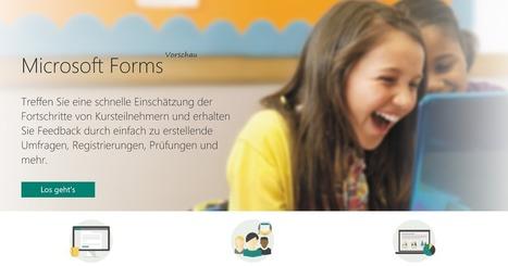 Web2-Unterricht: Microsoft Forms - das neue Socrative?   PICTS   Scoop.it