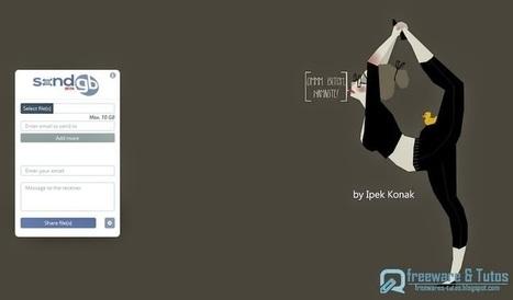 SendGB : un nouveau service en ligne pour envoyer et partager de gros fichiers (jusqu'à 10 Go) | fle&didaktike | Scoop.it
