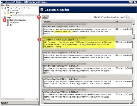 Rebuilding the Management Reporter Data Mart - MS Dynamics GP, SL AX, CRM | Microsoft Dynamics Tips | Scoop.it
