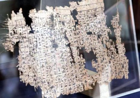 Cientos de papiros narran la vida de los obreros de la Gran Pirámide de Keops | Arqueología, Historia Antigua y Medieval - Archeology, Ancient and Medieval History byTerrae Antiqvae | Scoop.it
